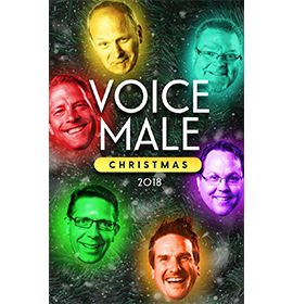 Voice Male Christmas 2018