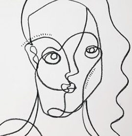 Continuous Line Drawing Workshop with Miriam Tribe
