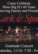 Lark & Spur Gratitude Concert